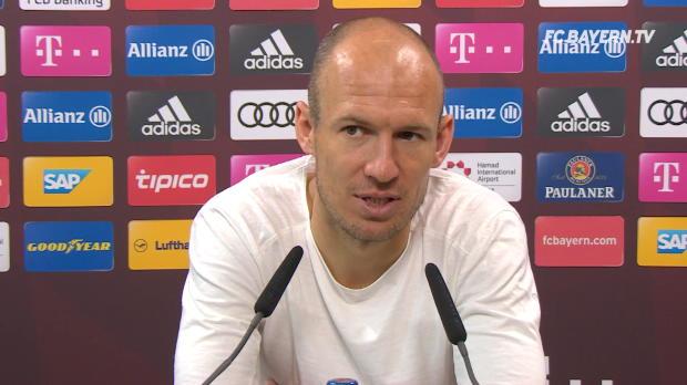 Robben: Guardiola bei City? Großes Kompliment!