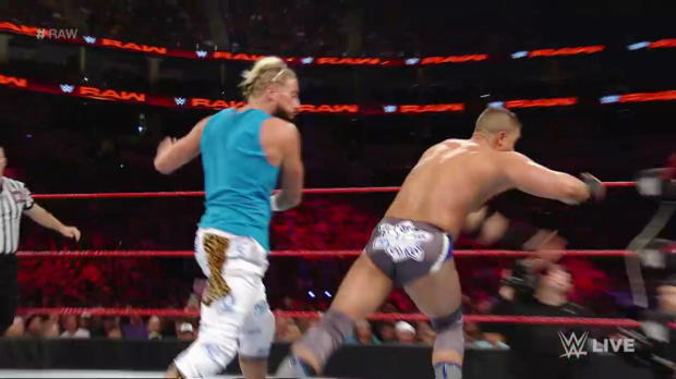 Enzo Amore & Big Cass vs. The Shining Stars: Raw, July 25, 2016