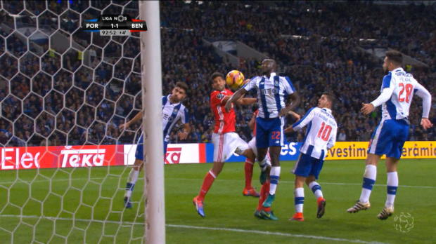 Last-Minute-Entscheidung bei Porto vs. Benfica