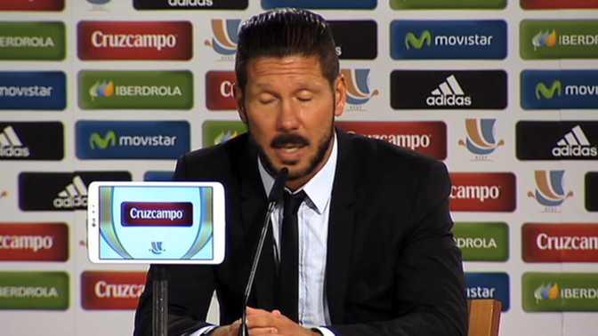 """Simeone : """"Di Maria est le meilleur joueur du Real"""""""