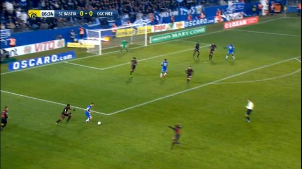 كرة قدم: الدوري الفرنسي: باستيا 1-1 نيس