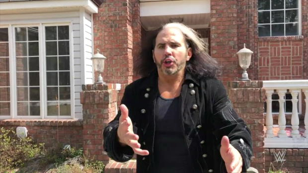"""""""Woken"""" Matt Hardy welcomes you to The Hardy Compound: WWE.com Exclusive, March 16, 2018"""