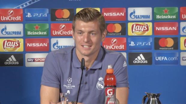 """Kroos: Ronaldo-Drama? """"Er war ganz normal"""""""