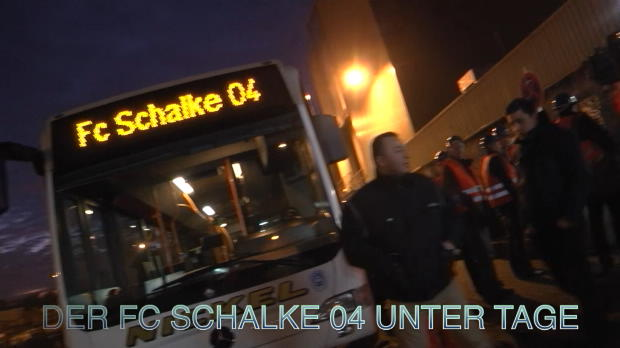 Knappen unter Tage: Schalke 04 in Schacht 10