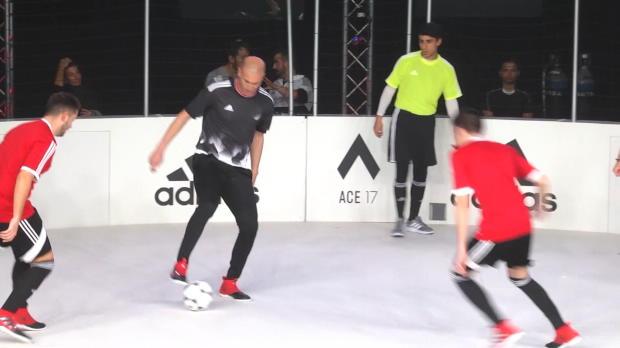 Immer noch Zizou! Zidane zeigt seine Skills