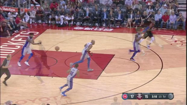 WSC: Blake Griffin Posts 21 points, 10 assists & 12 rebounds vs. Houston Rockets, 03/22/2018