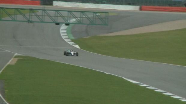 F1- Las primeras imágenes del nuevo Mercedes