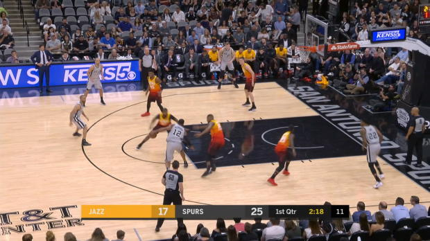 GAME RECAP: Spurs 124, Jazz 120