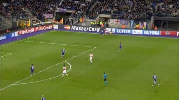 LdC : Anderlecht 1-2 Arsenal