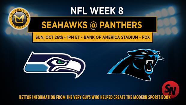Seattle Seahawks @ Carolina Panthers