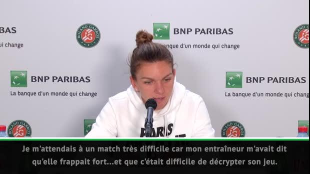 """Basket : Roland-Garros - Halep - """"Cela s'est même mieux passé que prévu"""""""