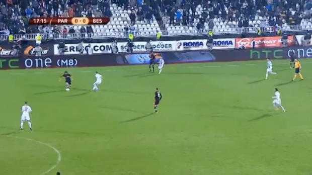 L.Europa : Partizan Belgrade 0-4 Besiktas