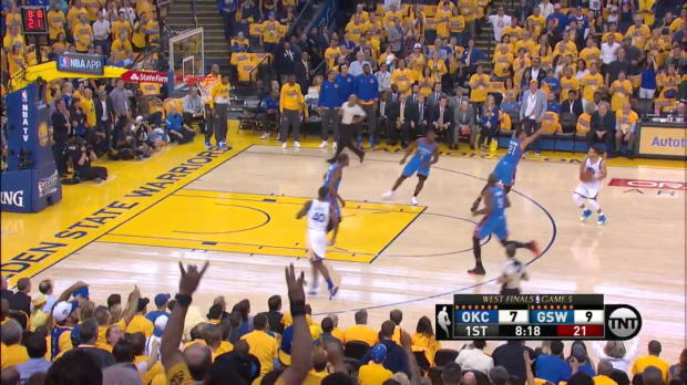 WSC: Stephen Curry nets 31 points in win over the Thunder