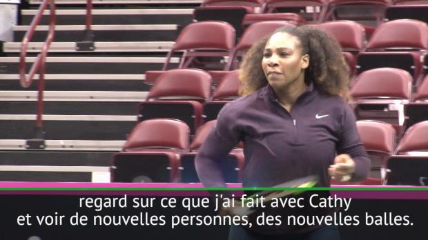 : Fed Cup - Serena - 'Je ne veux pas me fixer des limites'