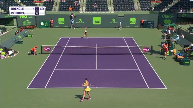 Miami: Karolina Pliskova mit lockerem Start