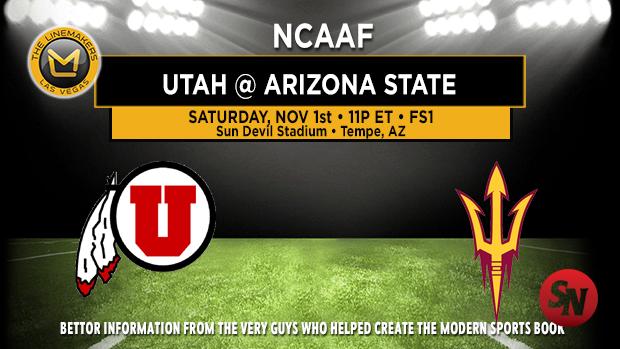 Utah Utes @ Arizona State Sun Devils
