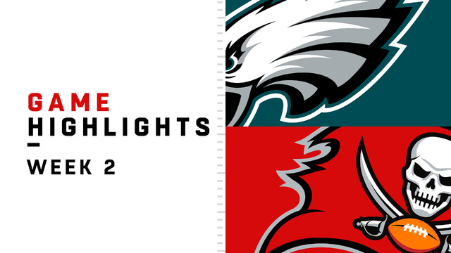 Eagles vs. Buccaneers highlights | Week 2