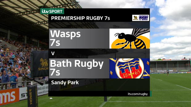 Aviva Premiership - Match Highlights - Wasps 7s v Bath Rugby 7s