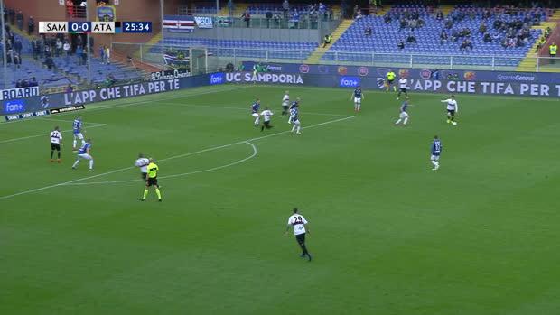 Serie A: Sampdoria - Atalanta   DAZN Highlights