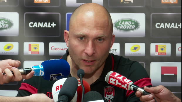 Top 14 - Barrages : Mignoni : ''Un match stressant''