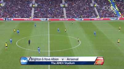 FA Cup : Brighton 2-3 Arsenal