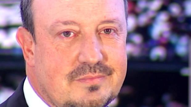 Real emotional! Benitez weint bei Vorstellung
