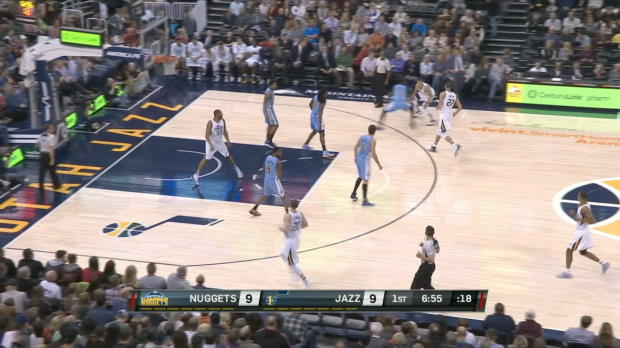 GAME RECAP: Nuggets 98, Jazz 105