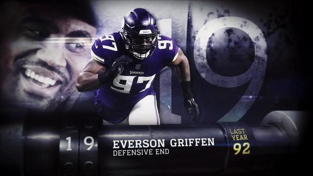 'Top 100 Players of 2018': Minnesota Vikings defensive end Everson Griffen | No. 19