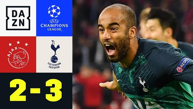 UEFA Champions League: Ajax - Tottenham | DAZN Highlights