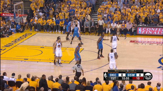 Assist of the Night: Andre Iguodala