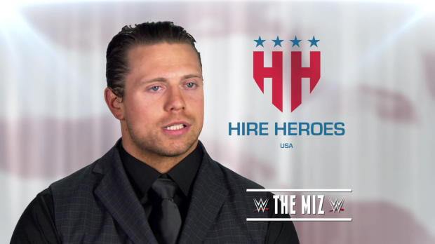 The Miz and WWE support Hire Heroes USA this Memorial Day