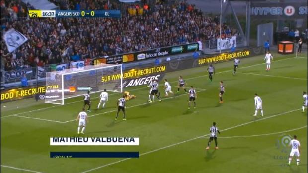كرة قدم: الدوري الفرنسي: انجيه 1-2 ليون