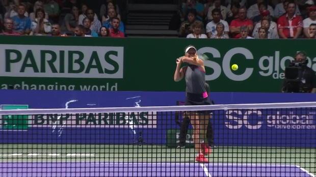 Finals: Wozniacki liefert Auftakt-Gala