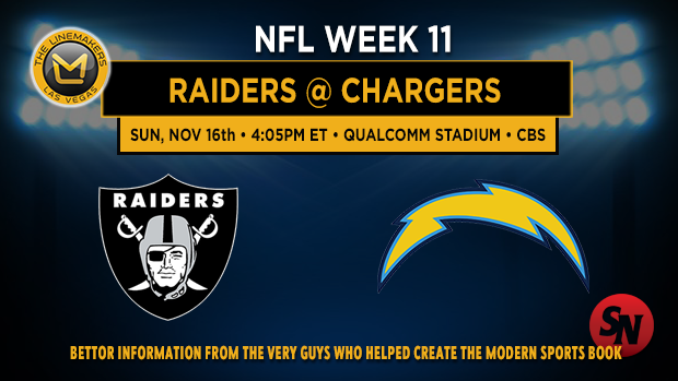 Oakland Raiders @ San Diego Chargers
