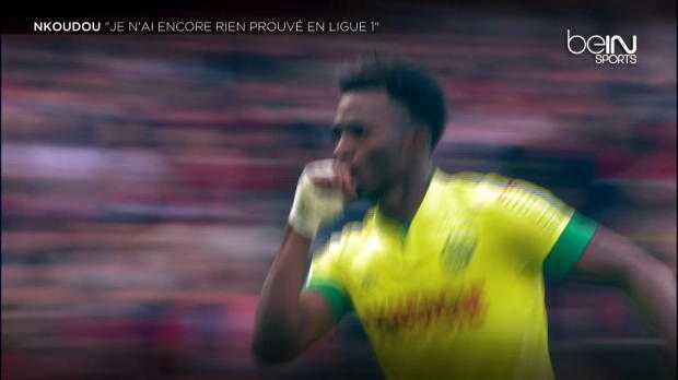 """Nkoudou : """"Je n'ai encore rien prouvé en L1"""""""