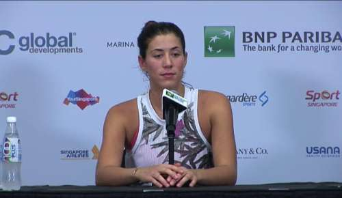 Muguruza Interview: WTA Singapore RR