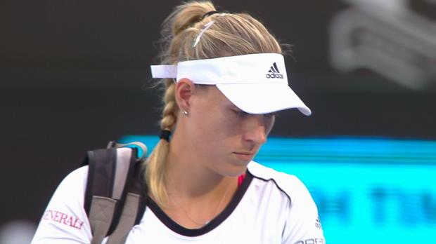 Tennis : Sydney - Kerber poursuit son début d'année parfait