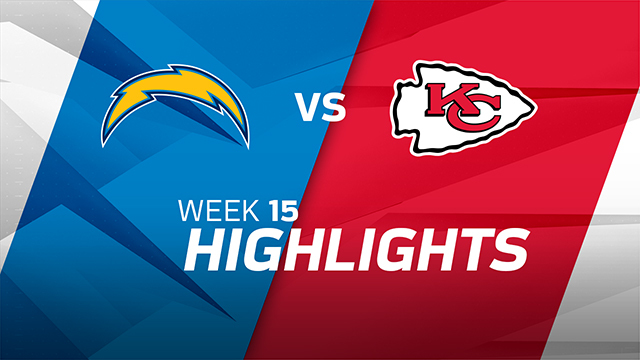 Chargers vs. Chiefs highlights | Week 15