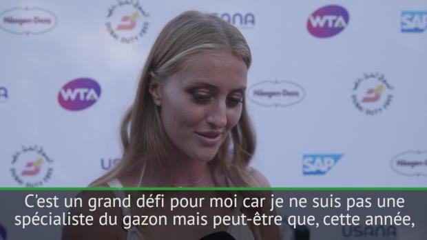 """Basket : Wimbledon - Mladenovic - """"Un grand défi pour moi, je ne suis pas une spécialiste"""""""