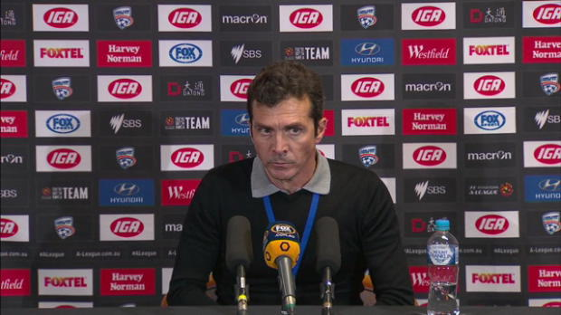 Adelaide United Rd 27 press conference