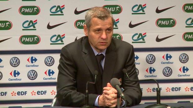 CdF - Genesio - 'Fekir peut �tre d�cisif pour la fin de saison'