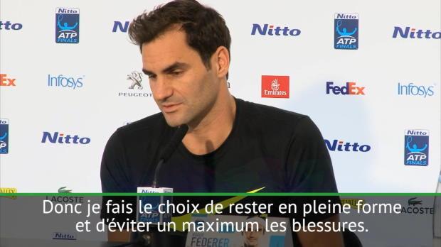 """Basket : Masters - Federer - """"Jouer contre des plus jeunes n'est pas plus difficile"""""""