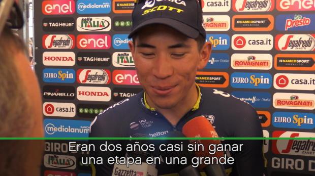 Giro de Italia - Ewan, eufórico tras su victoria en Alberobello