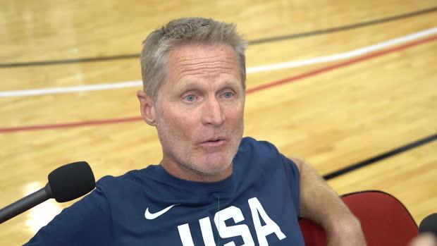 """Basket : NBA - Kerr - """"Nous aurons besoin de D'Angelo Russell"""""""