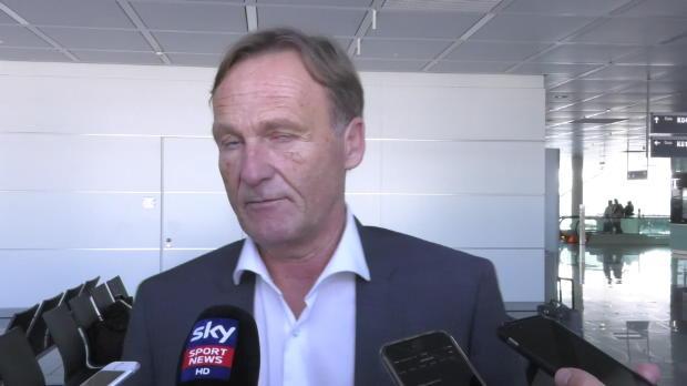 """Watzke spricht Klartext: """"Kader zu groß"""""""