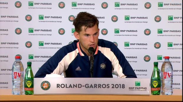 """French Open: Thiem: """"Verlieren ein Scheißdreck"""""""