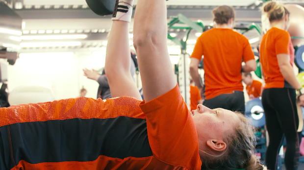 O2 Inside Line: England Women hit the gym