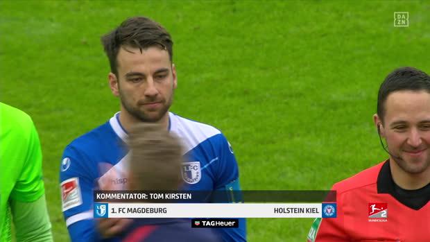 2. Bundesliga: 1. FC Magdeburg - Holstein Kiel | DAZN Highlights