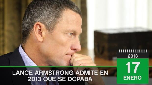 TAL DÍA COMO HOY - Lance Armstrong confiesa que se dopó