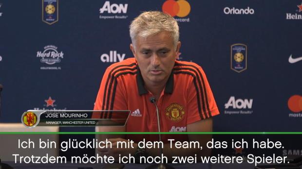 Mourinhos Anforderungsprofil für Neuzugänge